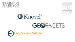 הדרכה בנושא ,Engineering Village Knovel   ו Geofacets